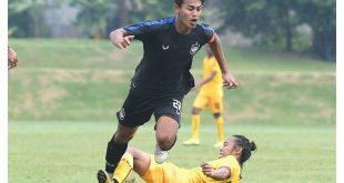 Duel Sriwijaya FC vs PSIS Semarang di YIS, Sleman. FOTO : IG