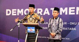 AW Noviadi Bakal Calon Bupati Ogan Ilir dan Bakal Calon Wakil Bupati Ardani. FOTO :VIRALSUMSEL.COM