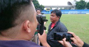 Budiardjo Thalib pelatih Sriwijaya FC. FOTO : VIRALSUMSEL.COM