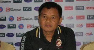 Hartono RUSLAN mantan Asisten Pelatih Sriwijaya FC. FOTO : VIRALSUMSEL.COM