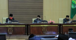 Wakil Bupati Musi Banyuasin Beni Hernedi menghadiri Rapat Paripurna Masa Persidangan II Rapat ke-9. FOTO : VIRALSUMSEL.COM