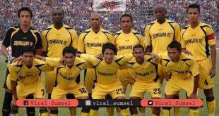 Para pemain andalan Sriwijaya FC saat mengarungi kompetisi musim 20072008. FOTO IG