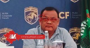 Ahmad Haris Manajer Muba Babel United. FOTO :VIRALSUMSEL.COM