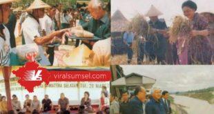 Foto-foto HM Soeharto Presiden RI Kedua saat kunjungan ke Belitang. FOTO : ISTIMEWA