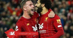 Para pemain Liverpool selebrasi usai cetak gol. FOTO : IG LIVERPOOL