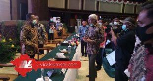 Wakil Gubernur Sumsel H Mawardi Yahya hadiri Rakorsus tingkat menteri bahas antisipasi Karhutla di Jakarta, Kamis (2/7/2020). FOTO :VIRALSUMSEL.COM