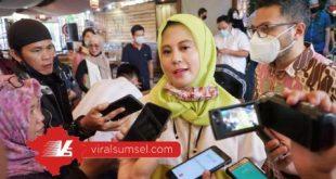 Calon Ketua Umum BPD Himpunan Pengusaha Muda Indonesia Sumsel Gianda Tifanny. FOTO :VIRALSUMSEL.COM