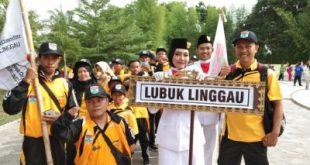 Para atlet Kota Lubuklinggau pada ajang Pekan Paralympic Provinsi Sumatera Selatan pada 2019 lalu. FOTO : VIRALSUMSEL.COM