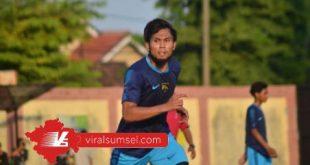 Ichsan Kurniawna pemain tengah eks Sriwijaya FC perkuat Martapura FC OKU Timur. FOTO :VIRALSUMSEL.COM