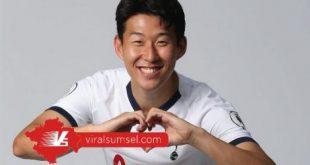 Penyerang Tottenham Hotspur asal Korea Selatan, Son Heung-Min selebrasi usai cetak gol. FOTO : IG SPURS