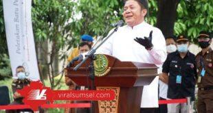 H Herman Deru Gubernur Sumatera Selatan. FOTO :VIRALSUMSEL.COM