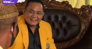 Ketua Umum Dewan Pimpinan Daerah (DPD) Partai Golkar Provinsi Sumatera Selatan , DR H Dodi Reza Alex. FOTO : VIRALSUMSEL.COM