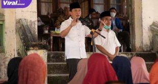 AW Noviadi dengan Ardani Paslon Bupati dan Wakil Bupati Ogan Ilir. FOTO : VIRALSUMSEL.COM
