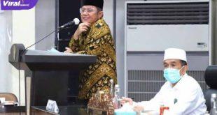 Gubernur Sumsel H Herman Deru dan Ketua IPHI Provinsi Sumsel Dr. H. Akhmad Najib S.H. M. Hum. FOTO : VIRALSUMSEL.COM