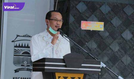 H Harnojoyo Walikota Palembang. FOTO : YOSEP/VIRALSUMSEL.COM