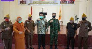 Gubernur Sumsel, H Herman Deru menghadirkan Pangdam II Sriwijaya Mayjen TNI Agus Suhardi dalam Peringatan Hari Veteran Nasional. FOTO : VIRALSUMSEL,COM