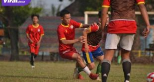 Seleksi pemain PS Banyuasin di Lapangan Sepak Bola PTPN VII Musi Landas, Kecamatan Sembawa, Kabupaten Banyuasin, 20-21 Agustus 2020. FOTO : VIRALSUMSEL.COM