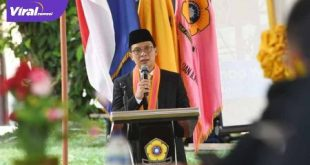 AW Noviadi Mawardi Bakal Calon Bupati Ogan Ilir Yudisium di Kampus Unsri, Kamis (27/8/2020). FOTO : VIRALSUMSEL.COM