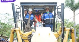 Gubernur Sumsel H Herman Deru bersama Bupati Musi Rawas H Hendra Gunawan. FOTO : VIRALSUMSEL.COM