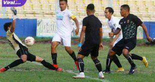 Alberto Goncalves penyerang Sriwijaya FC cetak gol ke gawang Bhayangkara Sriwijaya. FOTO : IG SFC