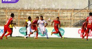 Alberto Goncalve penyerang Sriwijaya FC beraksi saat hadapi Badak Lampung FC. FOTO : VIRALSUMSEL.COM