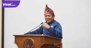 H Herman Deru Gubernur Sumsel hadiri peringatan HUT ke-75 Kabupaten OKI. FOTO : VIRALSUMSEL.COM