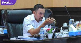 Wakil Ketua Komisi III asal Fraksi Partai NasDem, Ahmad Sahroni. FOTO : VIRALSUMSEL.COM