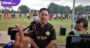 Ratu Dewa Presiden Klub PS Palembang. FOTO :VIRALSUMSEL.COM