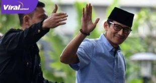 Sandiaga Uno, Menteri Pariwisata dan Ekonomi Kreatif Republik Indonesia. FOTO :VIRALSUMSEL.COM