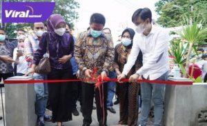 Herman Deru Gubernur Sumsel meresmikan Rumah Loer di Jalan Merdeka Palembang. FOTO : VIRALSUMSEL.COM