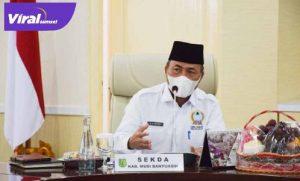 Sekretaris Daerah Musi Banyuasin Drs Apriyadi MS.i. FOTO : VIRALSUMSEL.COM