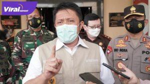 Herman Deru Gubernur Sumsel beri keterangan pada awak media. FOTO : VIRALSUMSEL.COM