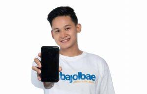 diBajolbae aplikasi belanja online karya anak muda Palembang. FOTO : VIRALSUMSEL.COM
