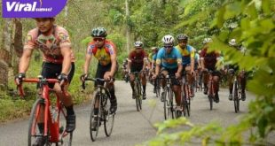 Ilustrasi balap sepeda nasional. FOTO : VIRALSUMSEL.COM