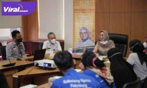Amaliah Sobli Anggota DPD RI jelaskan Empat Pilar Berbangsa dan Bernegara. FOTO : VIRALSUMSEL.COM
