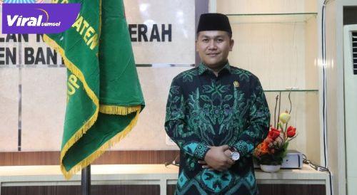 Ahmad Zarkasih Wakil Ketua DPRD Banyuasin. FOTO : VIRALSUMSEL.COM