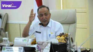 Sekretaris Daerah Kabupaten Musi Banyuasin Drs H Apriyadi MSi. FOTO :VIRALSUMSEL.COM
