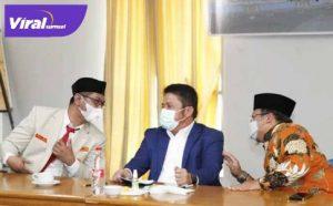 Gubernur Sumsel H Herman Deru hadiri Raker Pimpinan Pemuda Muhammadiyah Sumsel. FOTO : VIRALSUMSEL.COM
