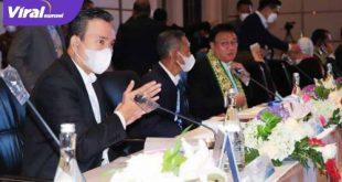 Wakil Bupati Muba menghadiri RUPS BSB, di Ballroom Hotel Fairmont Jakarta. FOTO : VIRALSUMSEL.COM