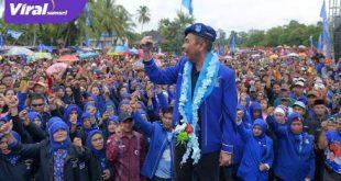 H Ishak Mekki Ketua DPD Partai Demokrat Sumsel. FOTO : VIRALSUMSEL.COM