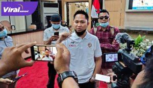 Manajer Tim Sriwijaya FC Muhammad Fadli. FOTO:VIRALSUMSEL.COM