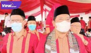 Ketua DPRD Kabupaten Banyuasin, H Irian Setiawan, SH, M.Si bersama Bupati Askolani. FOTO : IST