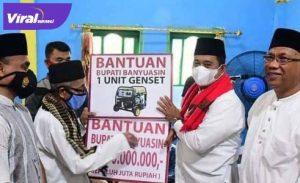 Bupati Banyuasin H Askolani safari jumat di Masjid Al Muslimin, Kebun Sahang. FOTO : VIRALSUMSEL.COM