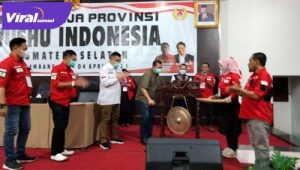 Pembukaan Rakerprov Wushu Indonesia Sumsel. FOTO : VIRALSUMSEL.COM