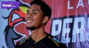 Akbar Zakaria pemain baru Sriwijaya FC. FOTO : IG