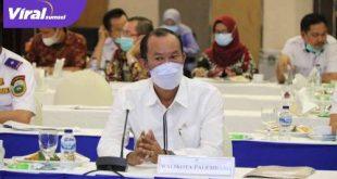 H Harnojoyo Walikota Palembang. FOTO : VIRALSUMSEL.COM