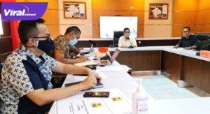 Suasana kunjungan Anggota Dewan Perwakilan Rakyat Republik Indonesia (DPR RI), Ir.H. Ishak Mekki, MM ke Balai Prasarana Permukiman Wilayah Sumsel. FOTO : VIRALSUMSEL.COM