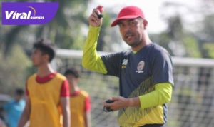 Nil Maizar pelatih kepala Sriwijaya FC. FOTO : MO SFC