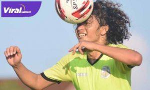 "Luis ""Puyol"" Irsandi centre back baru Muba Babel United. FOTO : VIRALSUMSEL.COM"