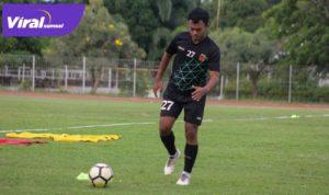 Roby Andika pemain lokal Sumsel trial di Sriwijaya FC. FOTO : VIRALSUMSEL.COM